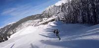 snowboarding fun